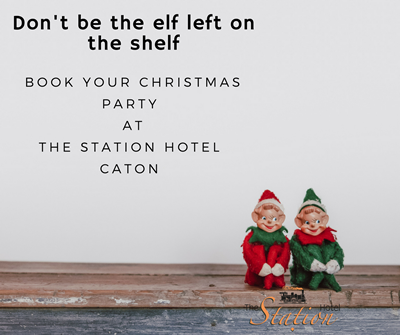 Christmas Parties at The Station Caton